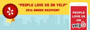 Yelp 2016 Award Recipient
